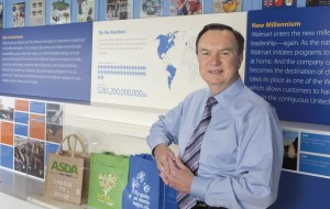 Walmart President & CEO Mike Duke at the Walmart Visitor Center