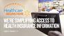 Healthcare Begins Here homepage banner
