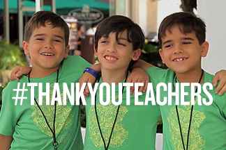 #Thank You Teachers promo banner