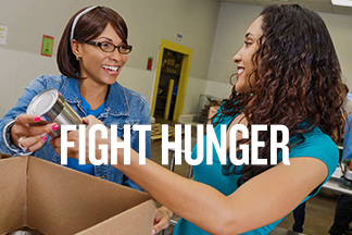 Fight hunger promo image