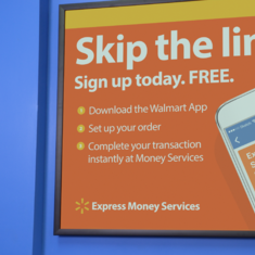 How can you send money fast at Walmart?