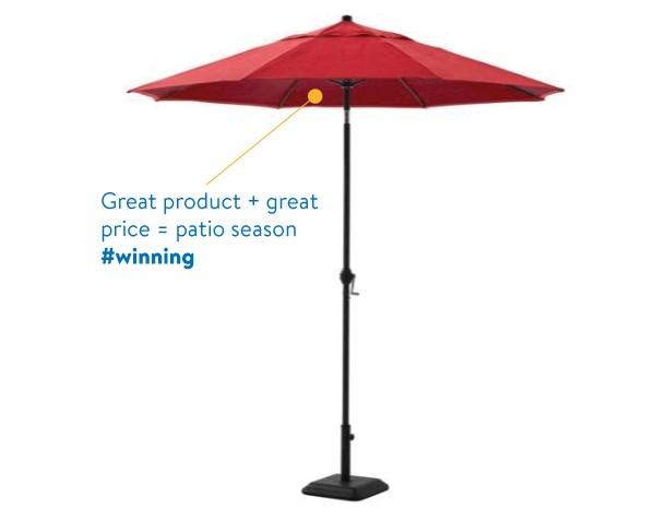Mainstays Patio Umbrella