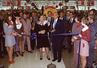 store 100 grand opening 1974