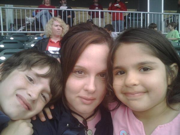 Amanda Whitehurst poses with her children