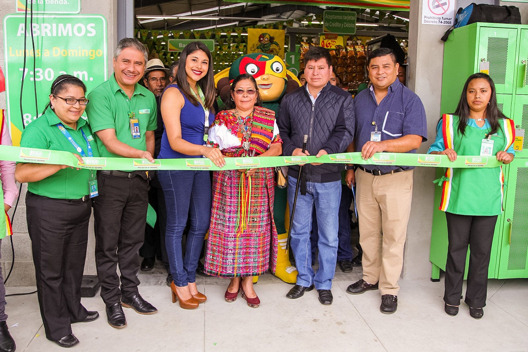 Cantel, Quetzaltenango da la bienvenida a Despensa Familiar