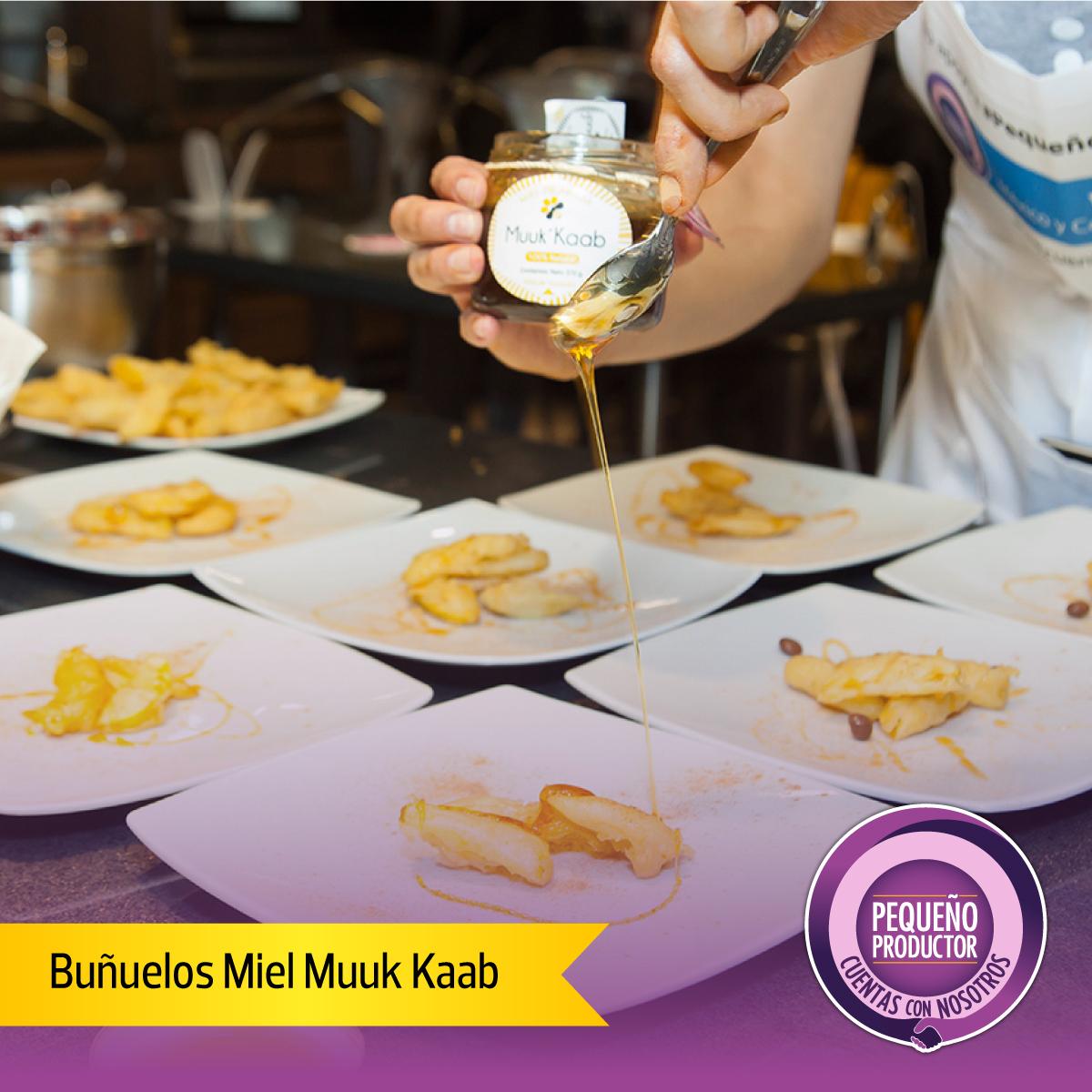 buñuelos con miel muuk kaab
