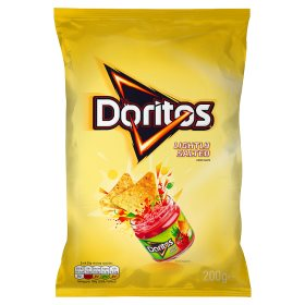 Doritos Lightly Salted 200g