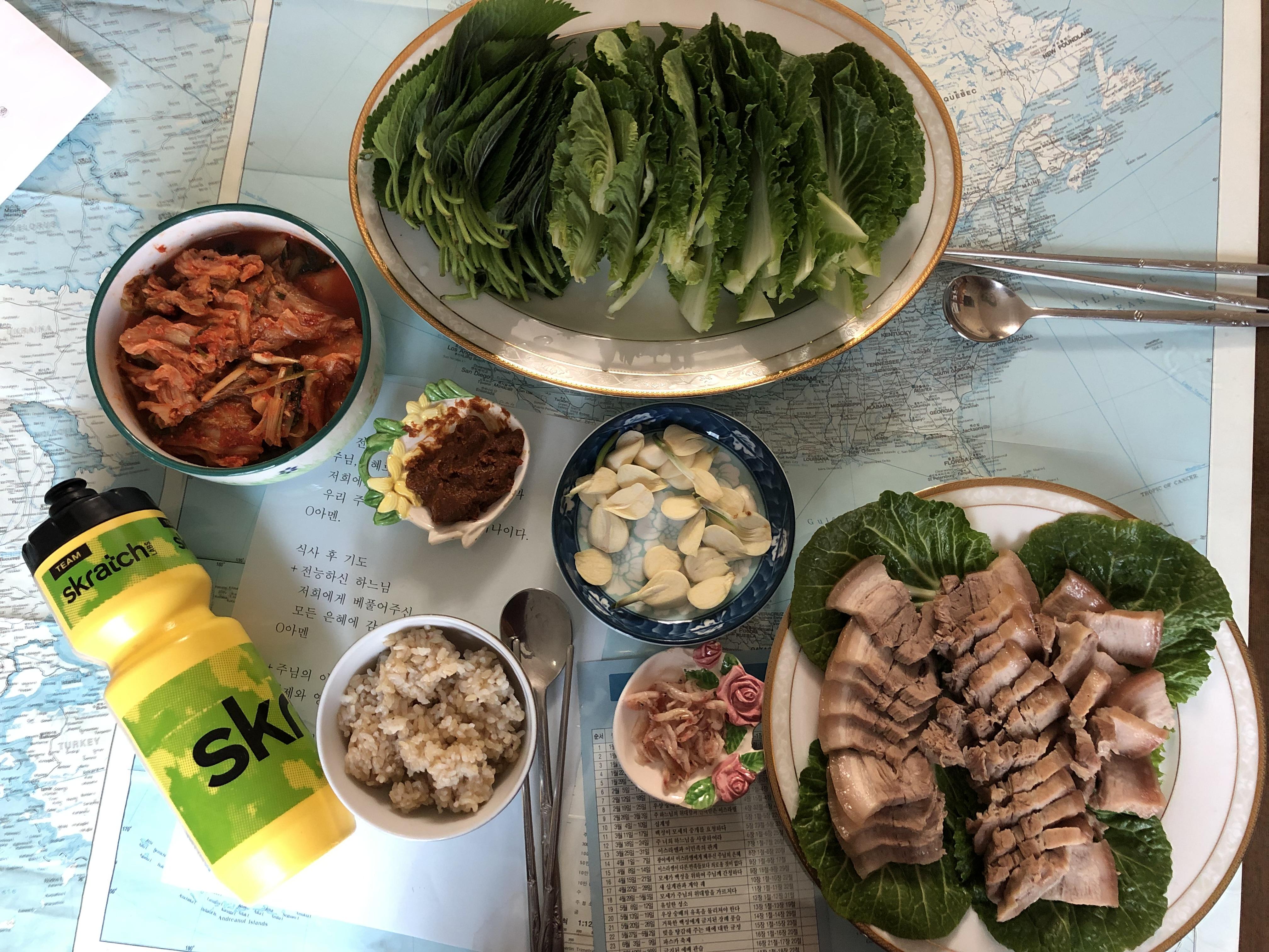 Ha Na Lee's lean protein focused dinner