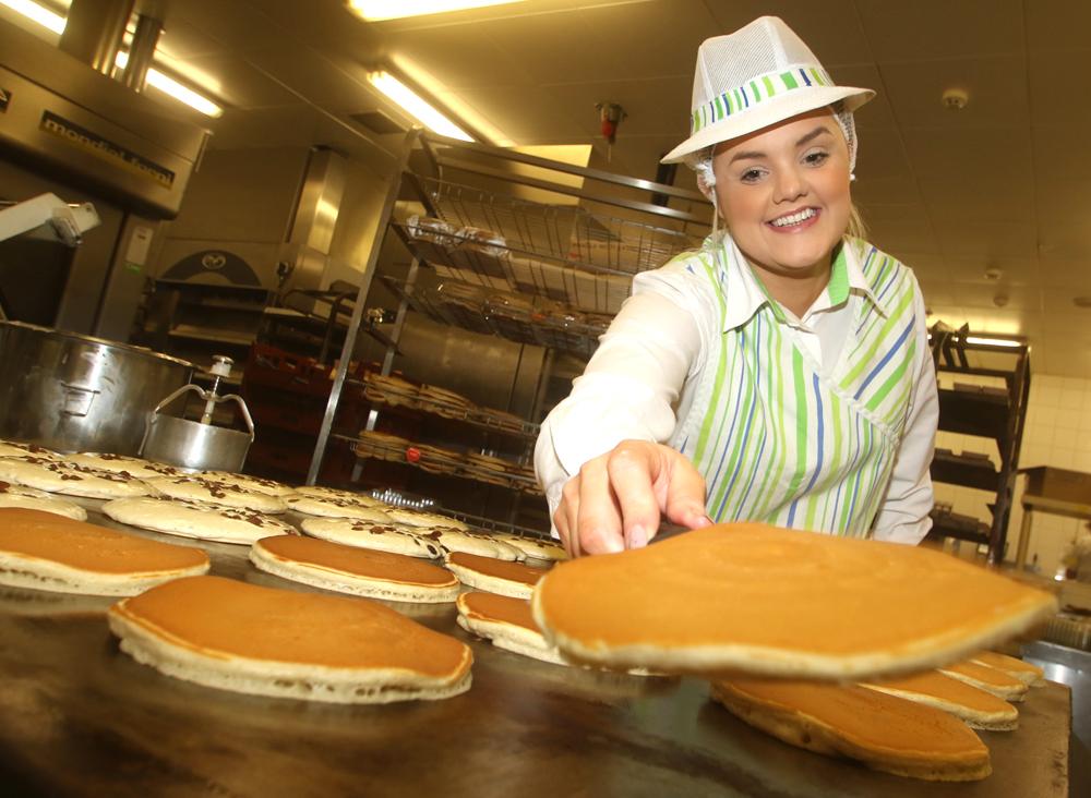 Asda Bakery colleague Nadine McClure