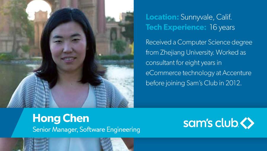 Women in Technology - Hong Chen