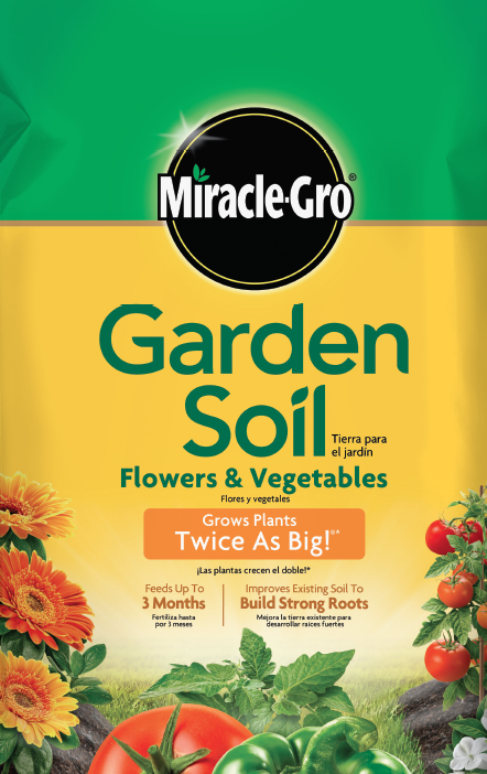 share - Miracle Gro Garden Soil