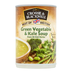 Crosse & Blackwell Green vegetable and kale soup