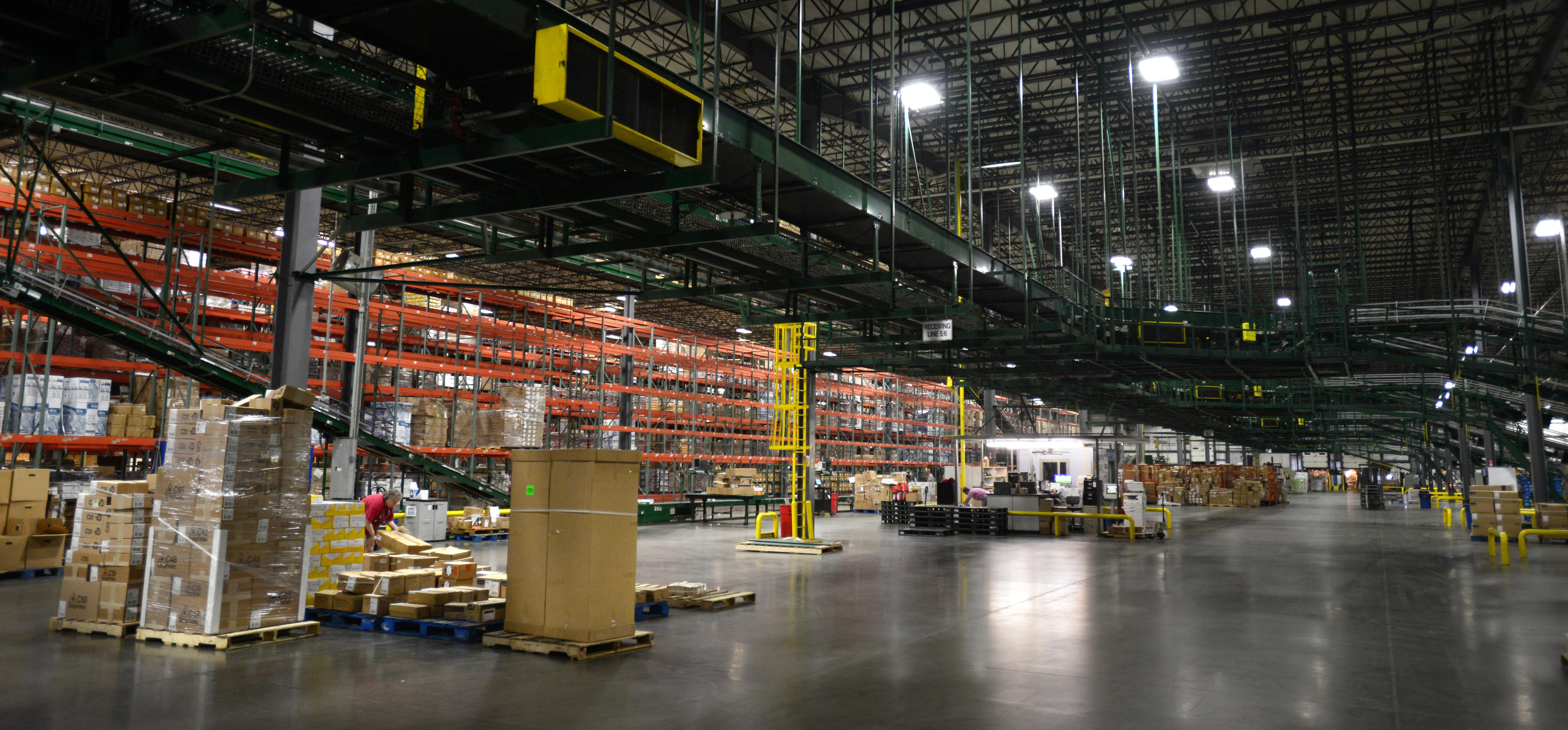 Walmart Corporate Contact >> Walmart distribution center in Bentonville, Ark.