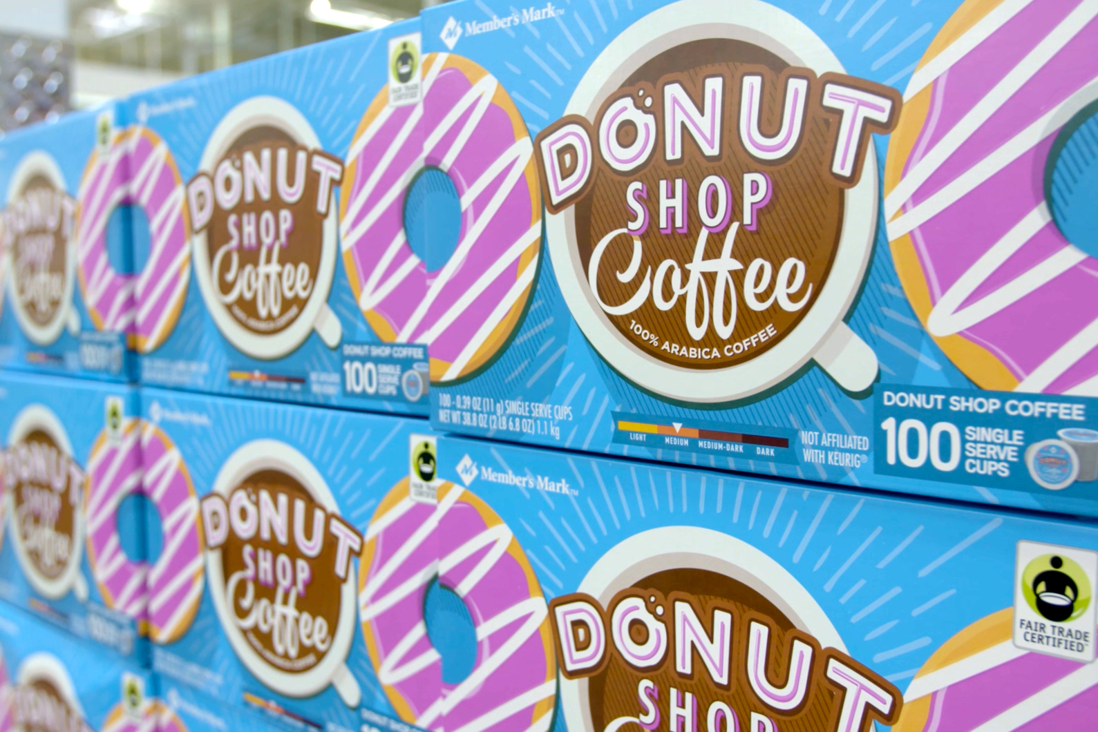 share - Donut Shop Coffee