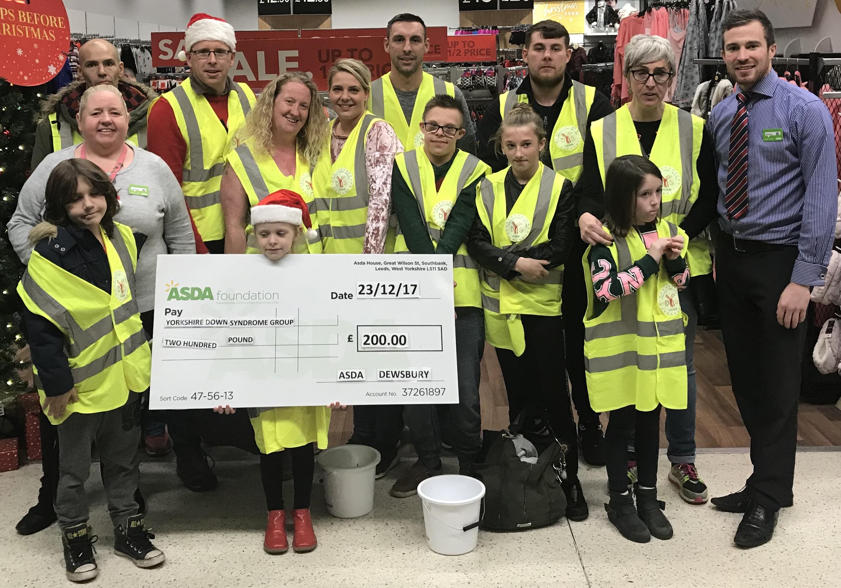 Dewsbury donation two
