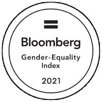 Bloomberg Gender Equality Index 2021 badge