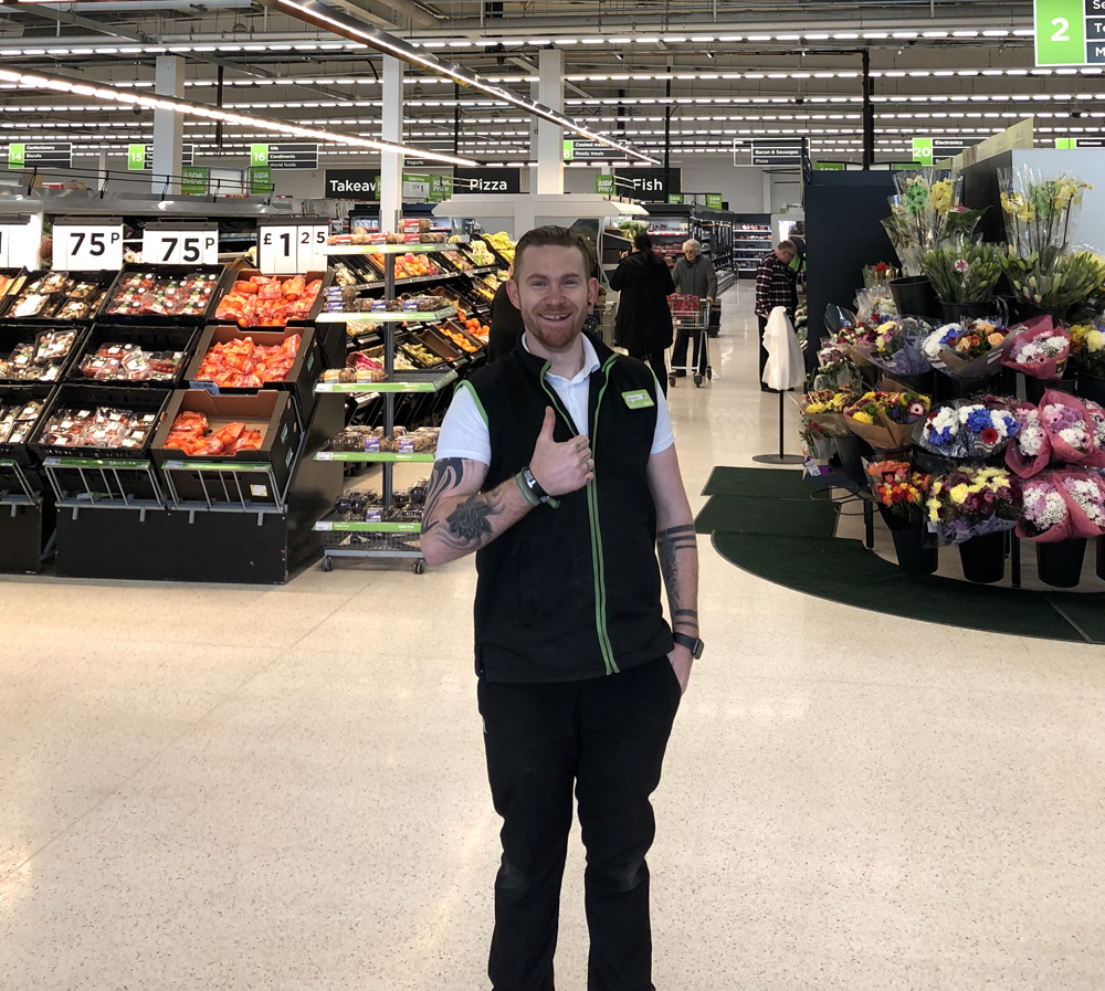 Brendon Cormano from Asda Biggleswade is taking part in the London Marathon