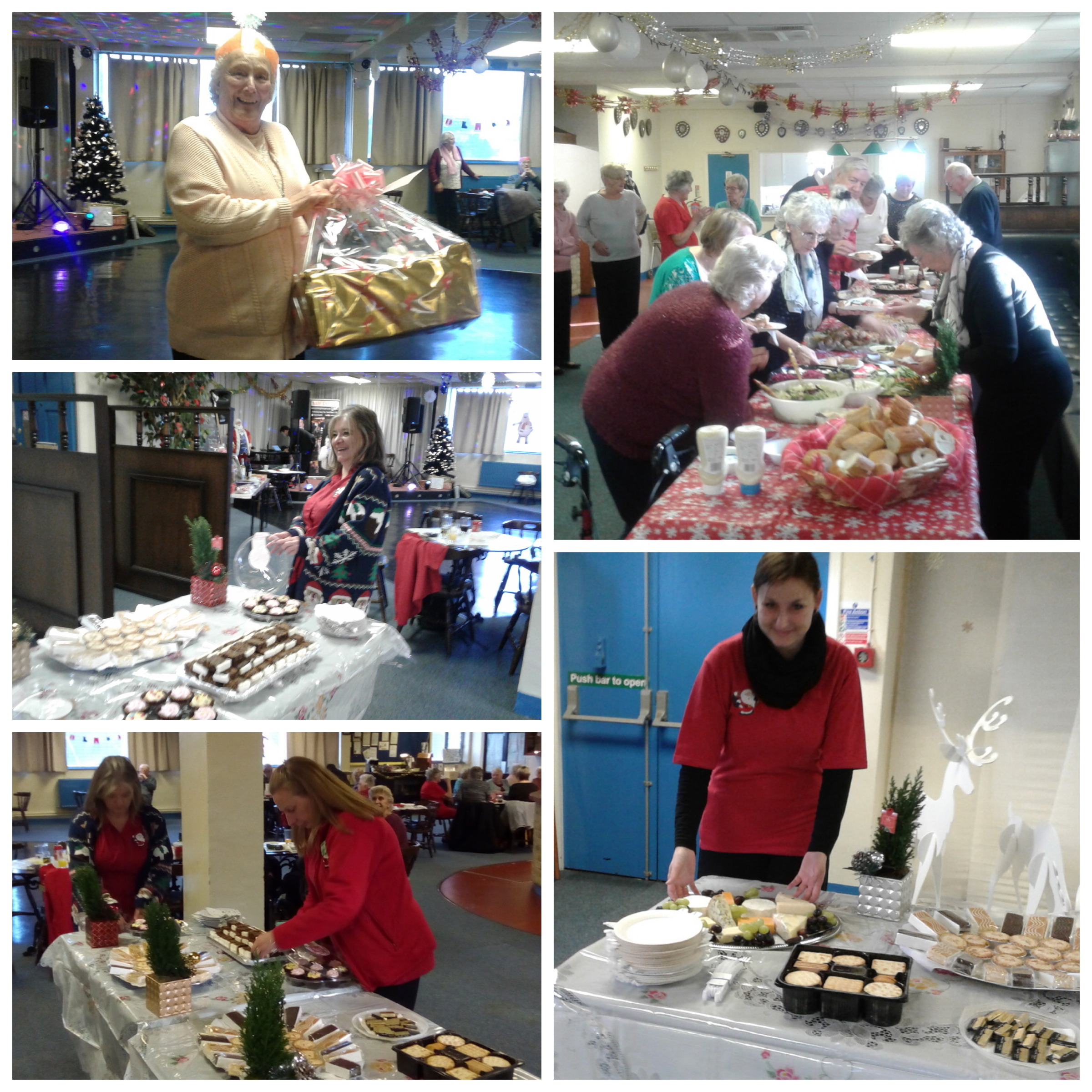 Leyton Pensioners' Association Christmas party