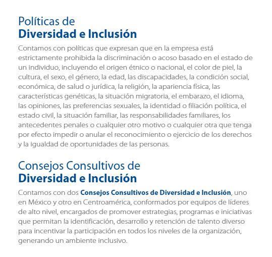 Politicas Diversidad e Inclusión