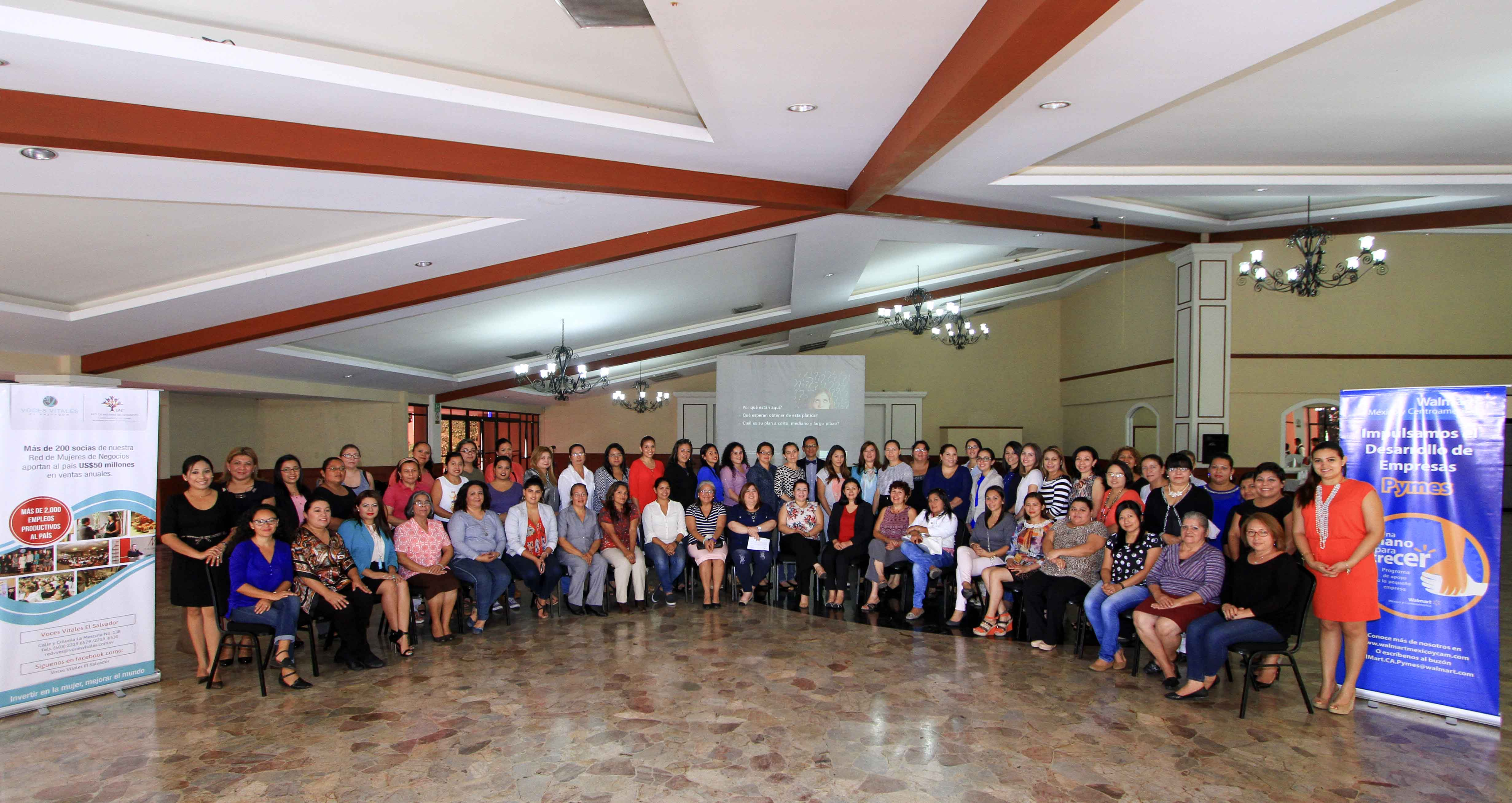 Mujeres emprendedoras El Salvador