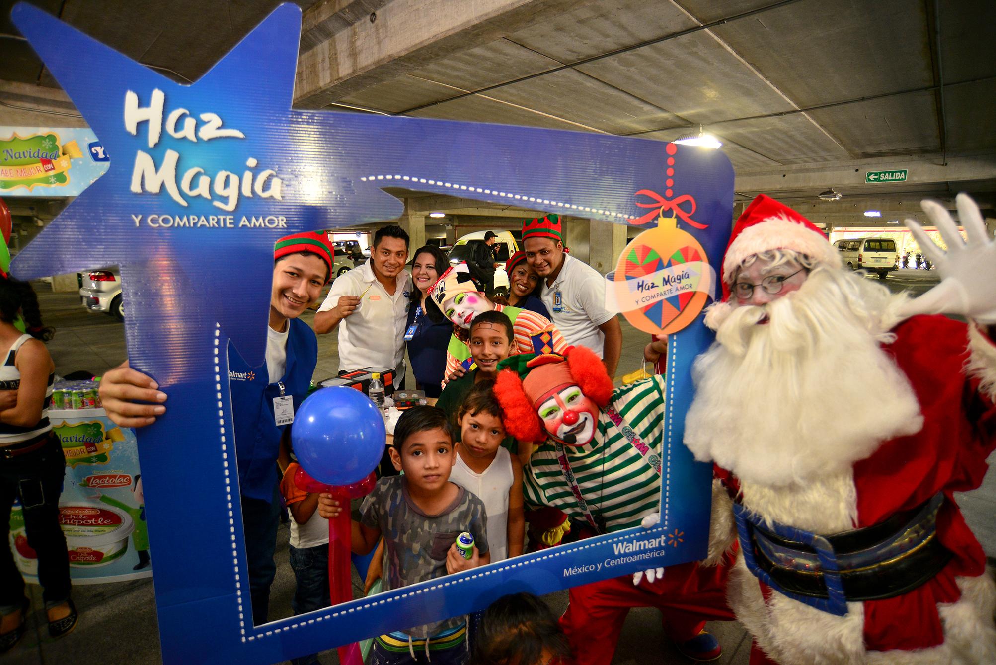 Celebramos en Nicaragua la quinta edición de nuestro programa Haz Magia para compartir amor en Navidad 3