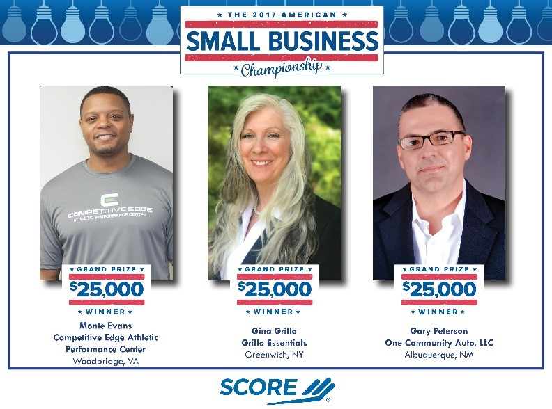 2017 American Small Business Championship Winners