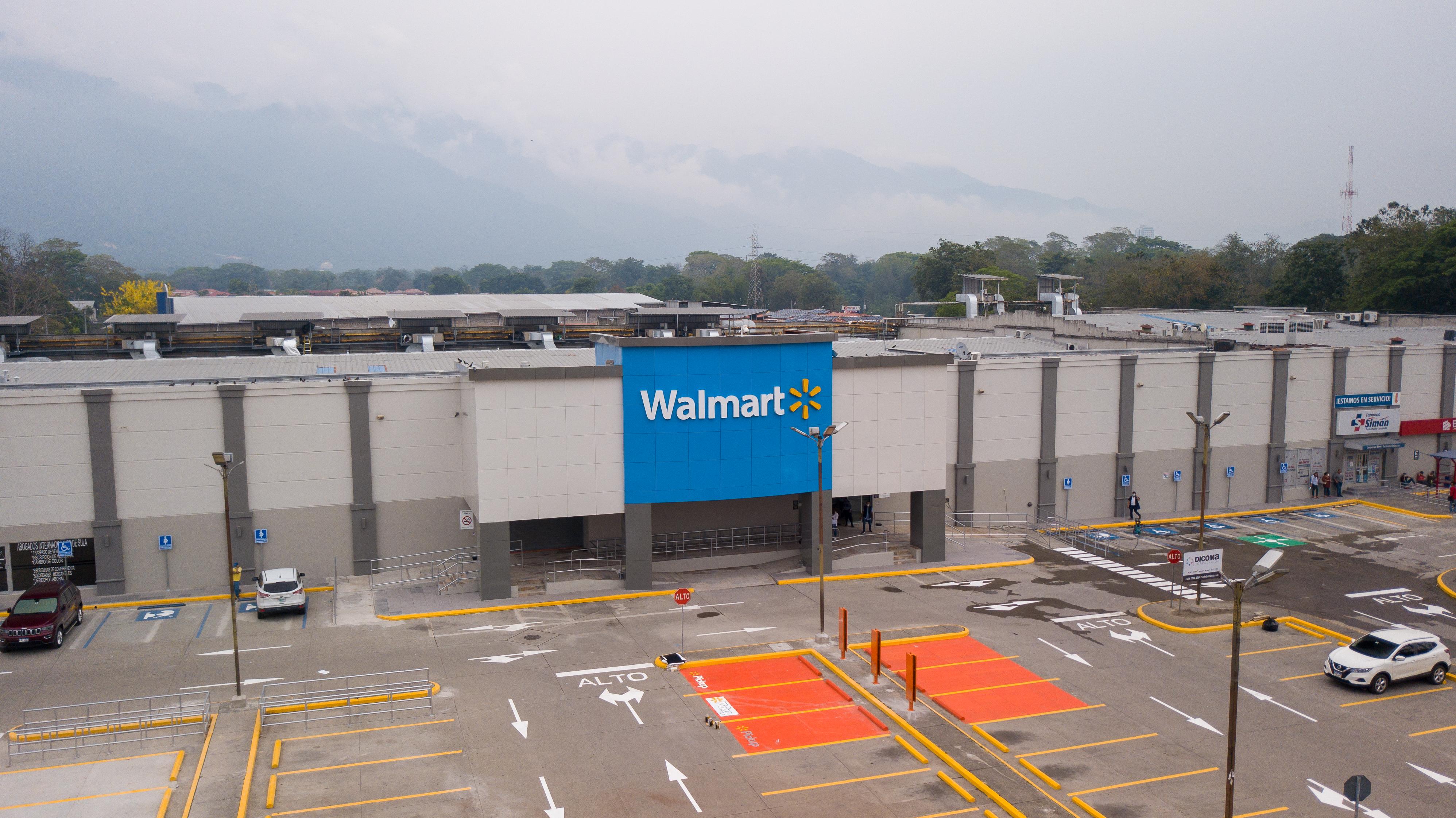 Walmart Bulevar Norte San Pedro Sula Honduras 1