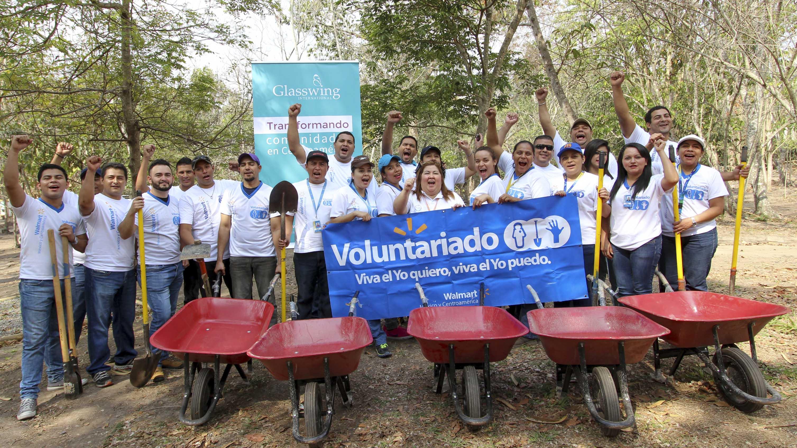Voluntariado Día de la Tierra en El Salvador
