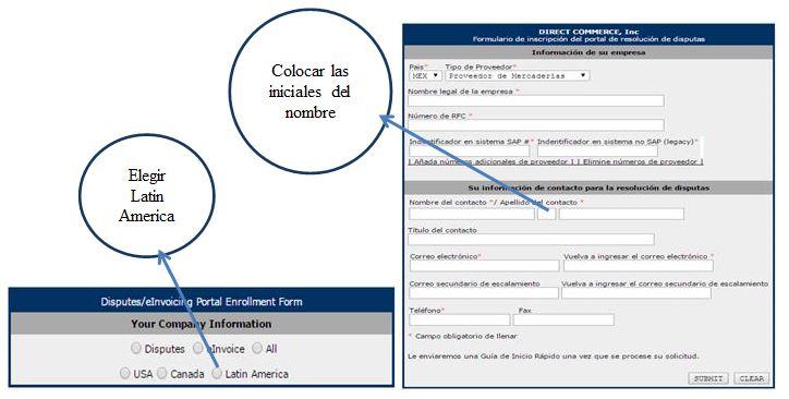 Pasos para registrar un proveedor