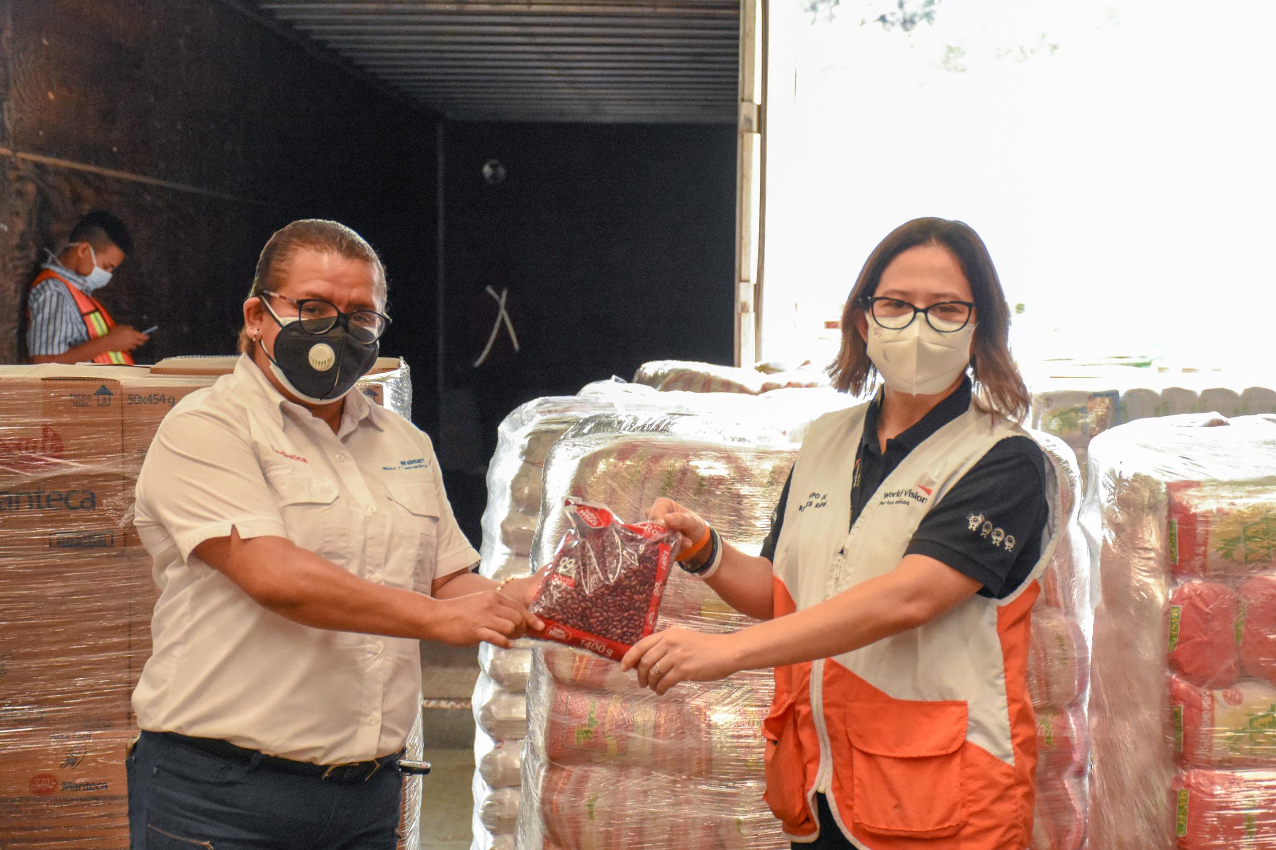 Walmart dona víveres a Visión Mundial Honduras y  Alcaldía de San Pedro Sula para afectados por tormentas 2