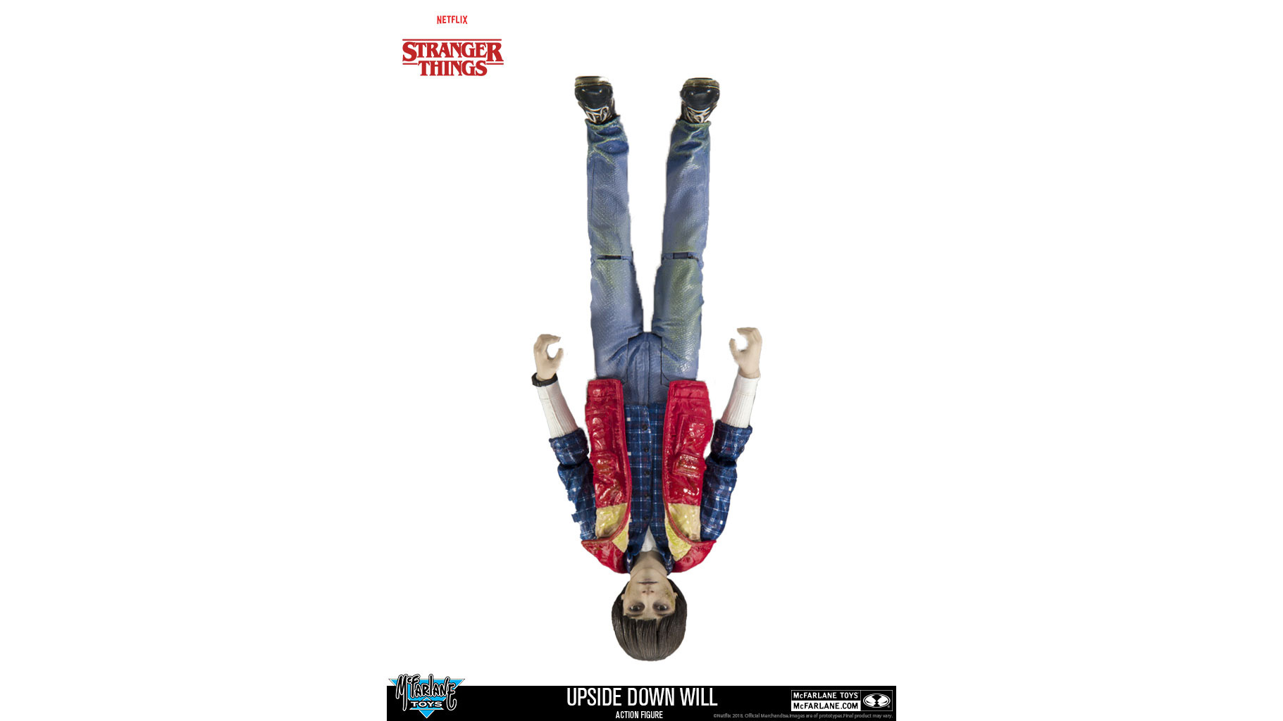 Stranger Things Upside Down Will