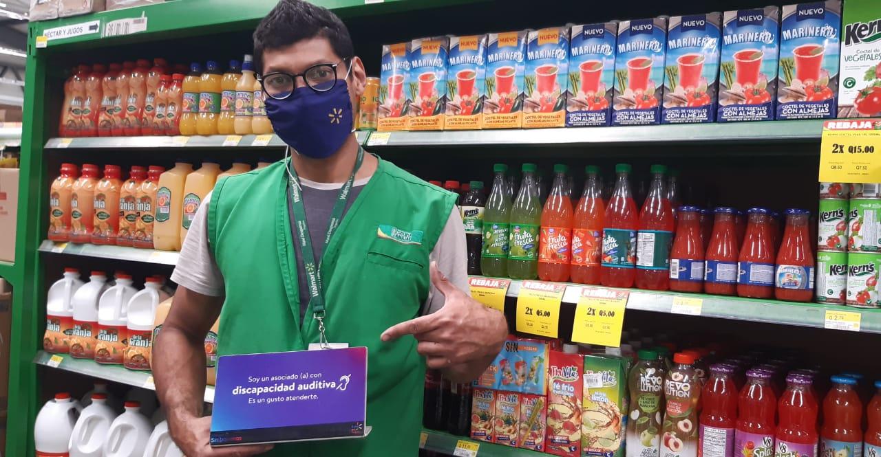 Walmart y el Benemérito Comité Pro Ciegos y Sordos firman convenio de cooperación para la inclusión de personas con discapacidad