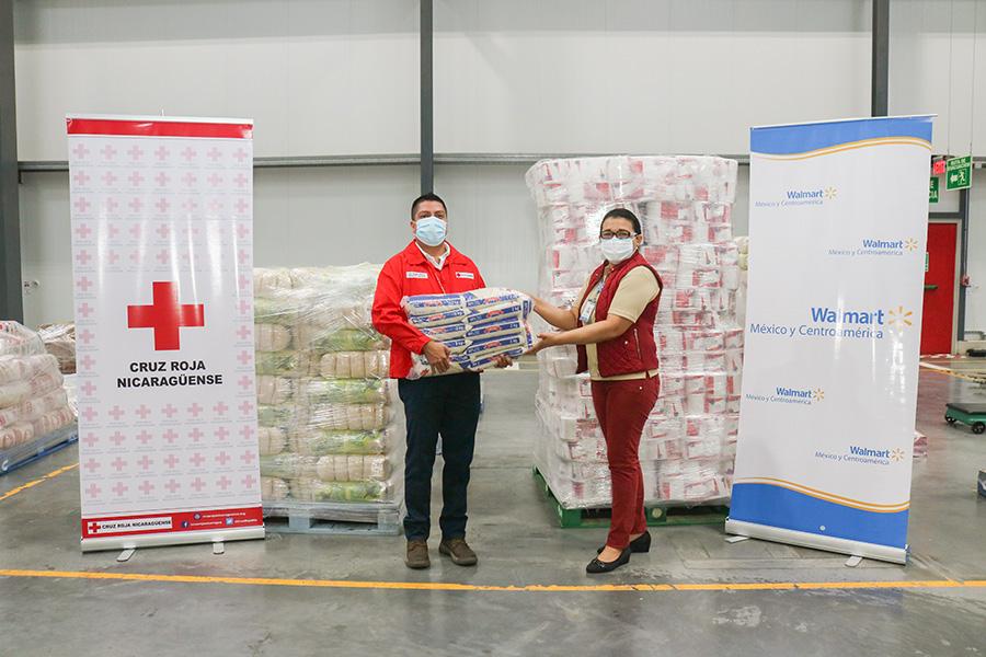 132 mil libras de alimentos y productos de higiene para familias afectadas por el huracán Eta