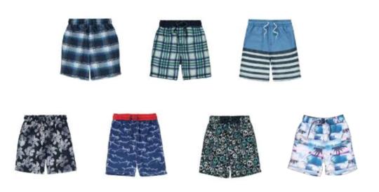George Boys Swim Shorts