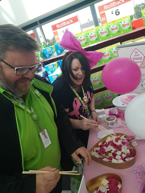 Asda Dundonald Tickled Pink