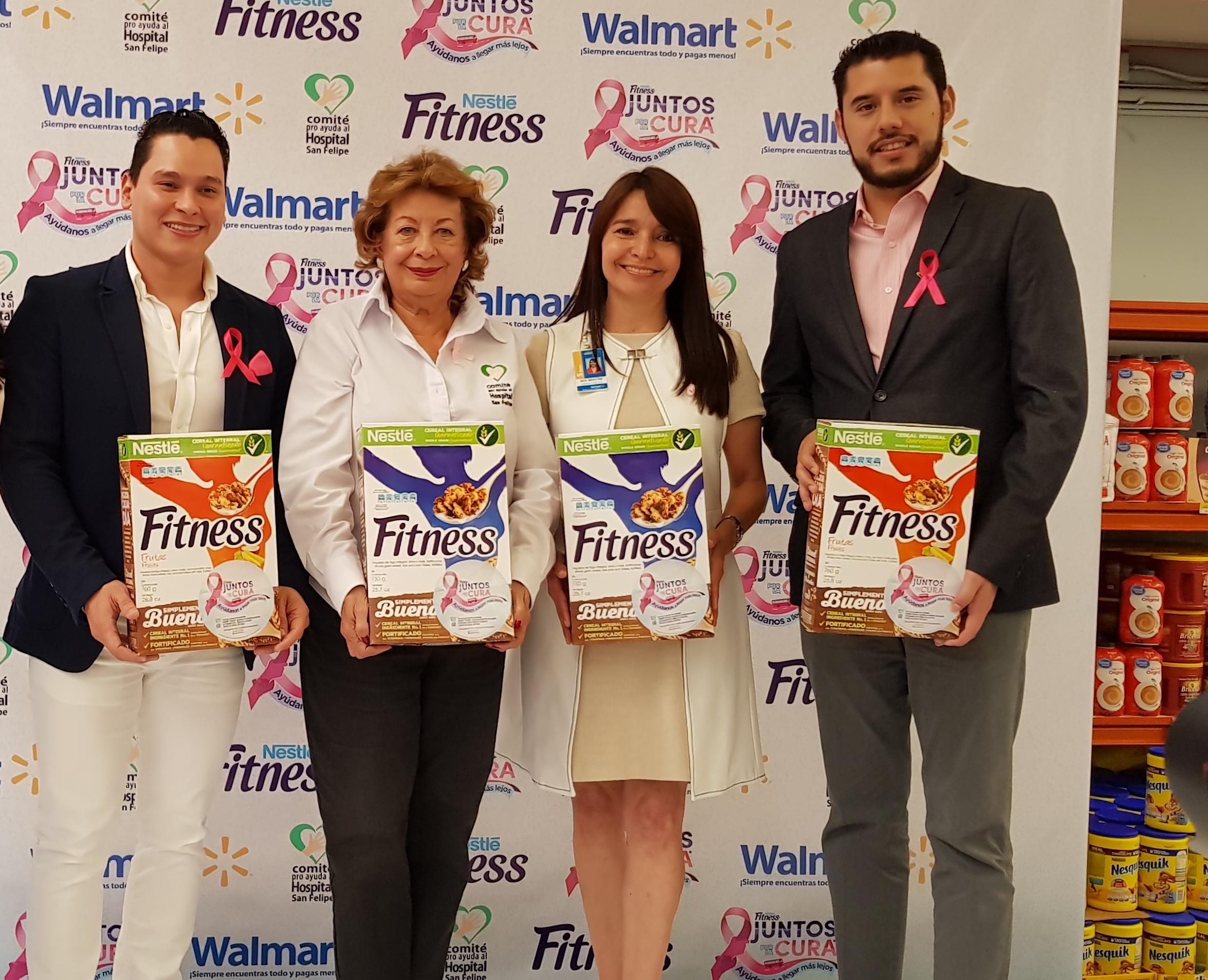 Walmart Honduras y Nestlé Fitness® reafirman su compromiso en la lucha contra el cáncer de seno