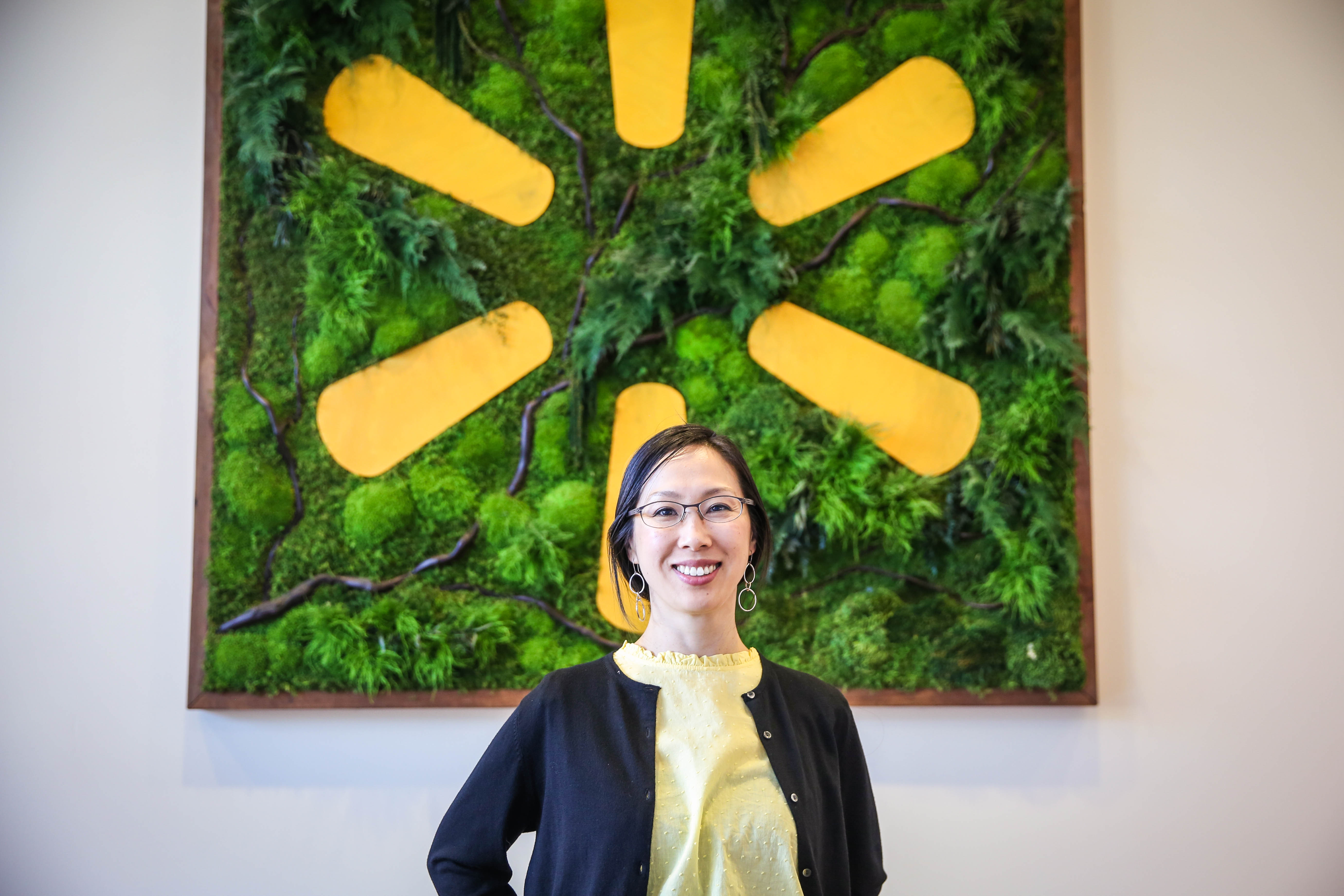 Walmart Labs associate Deborah Chin
