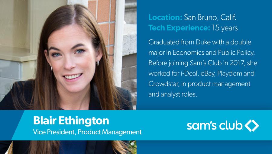 Blair Ethington, Vice President, Product Management