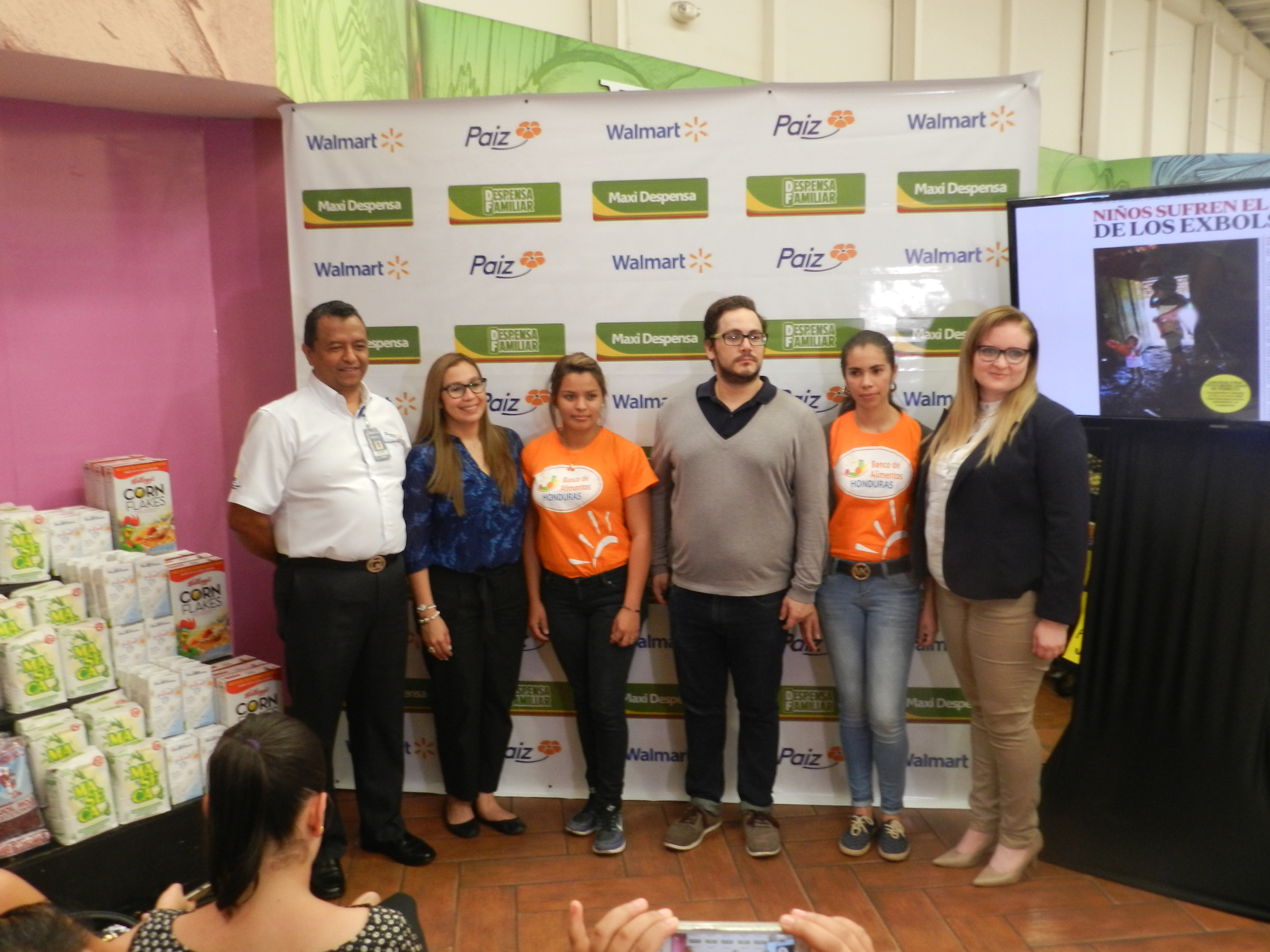 Walmart Honduras lanza campaña de recolecta de alimentos en el marco del Día de la Alimentación