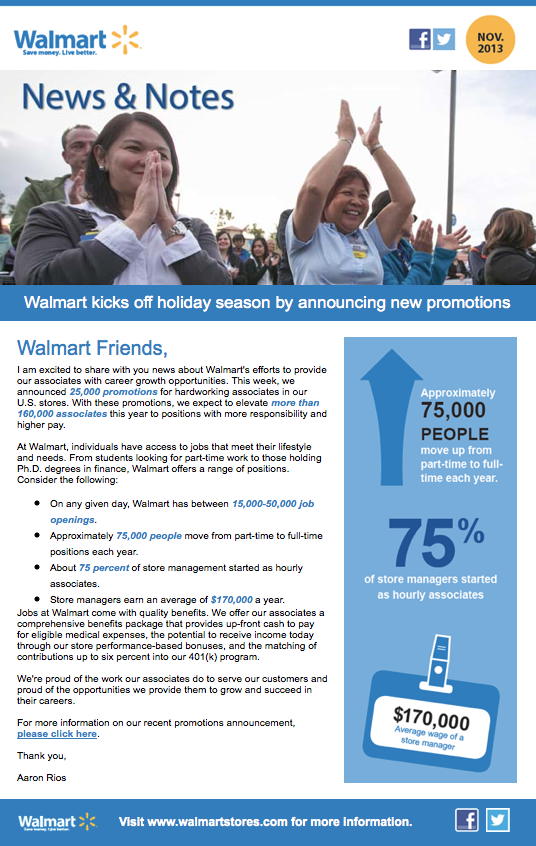 Walmart San Diego holiday promotions screenshot