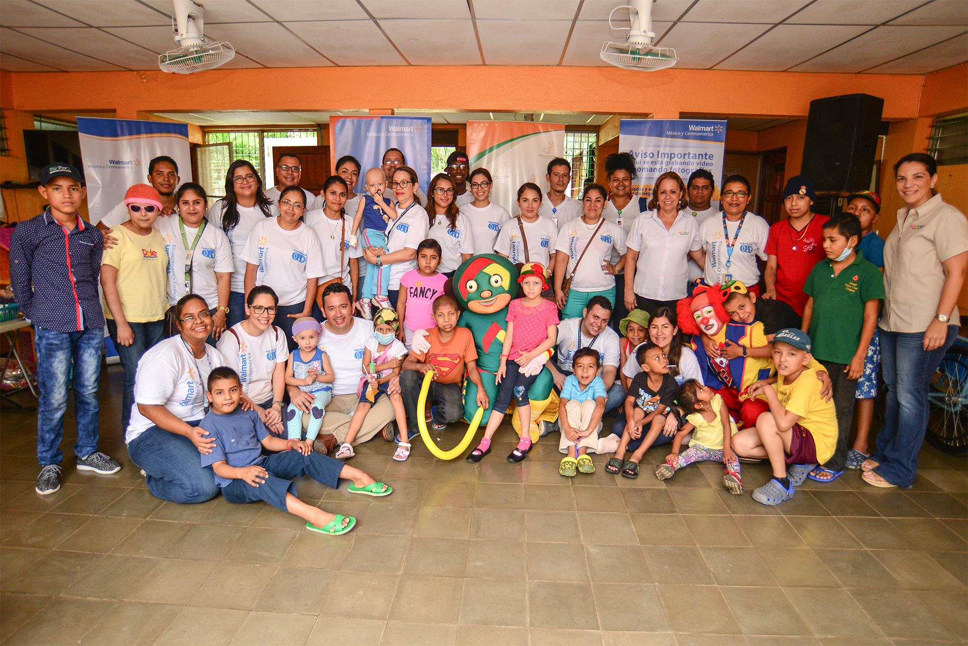 Voluntariado niños con cáncer