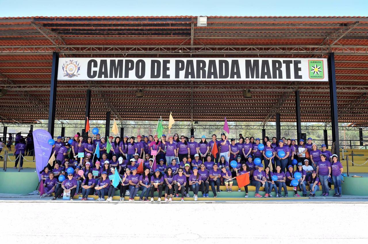 Sexta caminata de mentoría de la mano con Voces Vitales Honduras