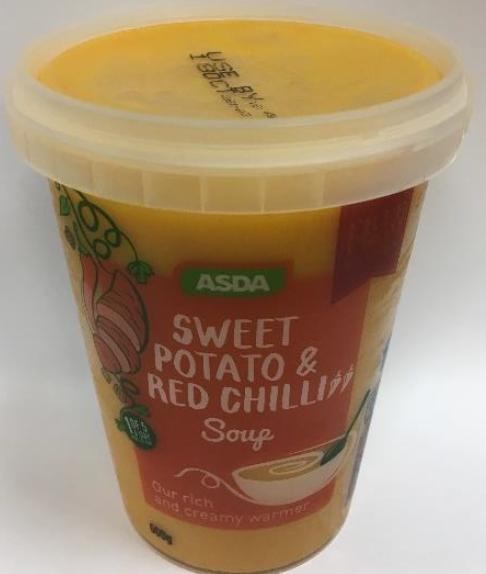 Allergen Alert Undeclared Mustard In Asda Sweet Potato