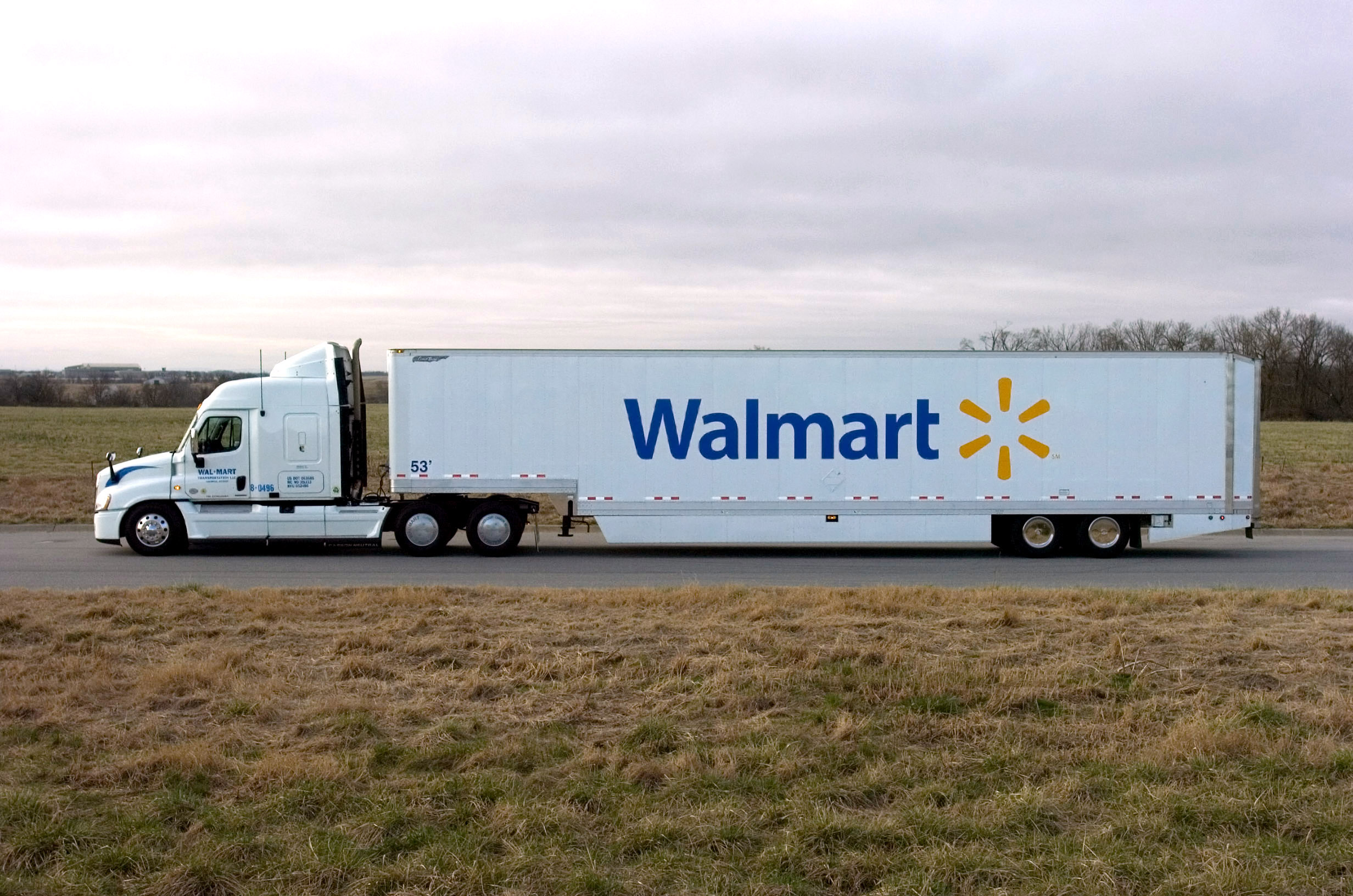 International Trucks 2018 >> Walmart Truck and Trailer