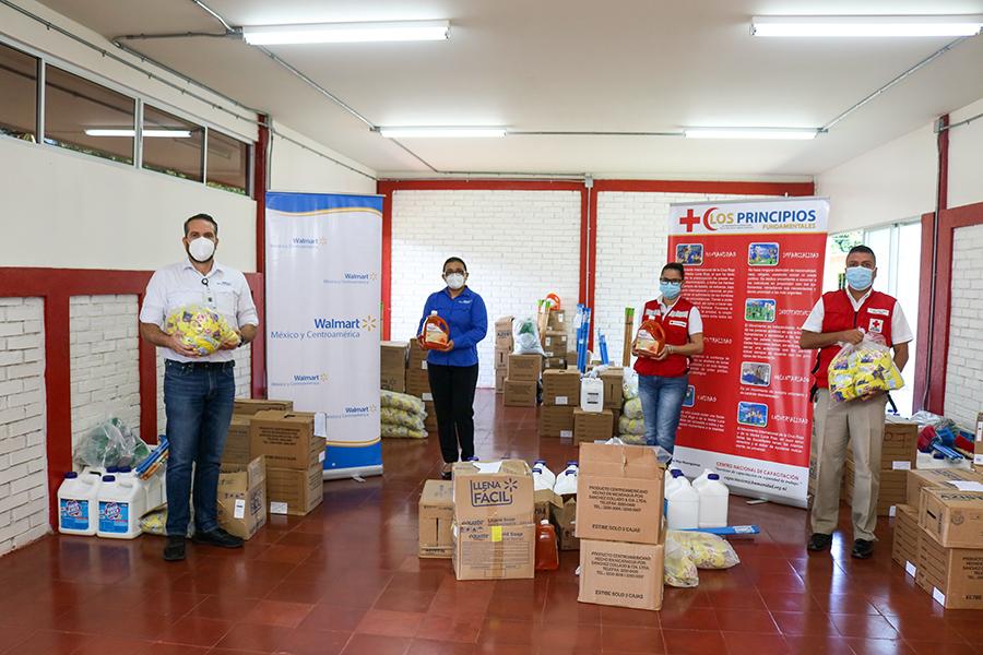 Walmart Centroamérica dona 54 mil libras en alimentos a la Cruz Roja Nicaragüense 2