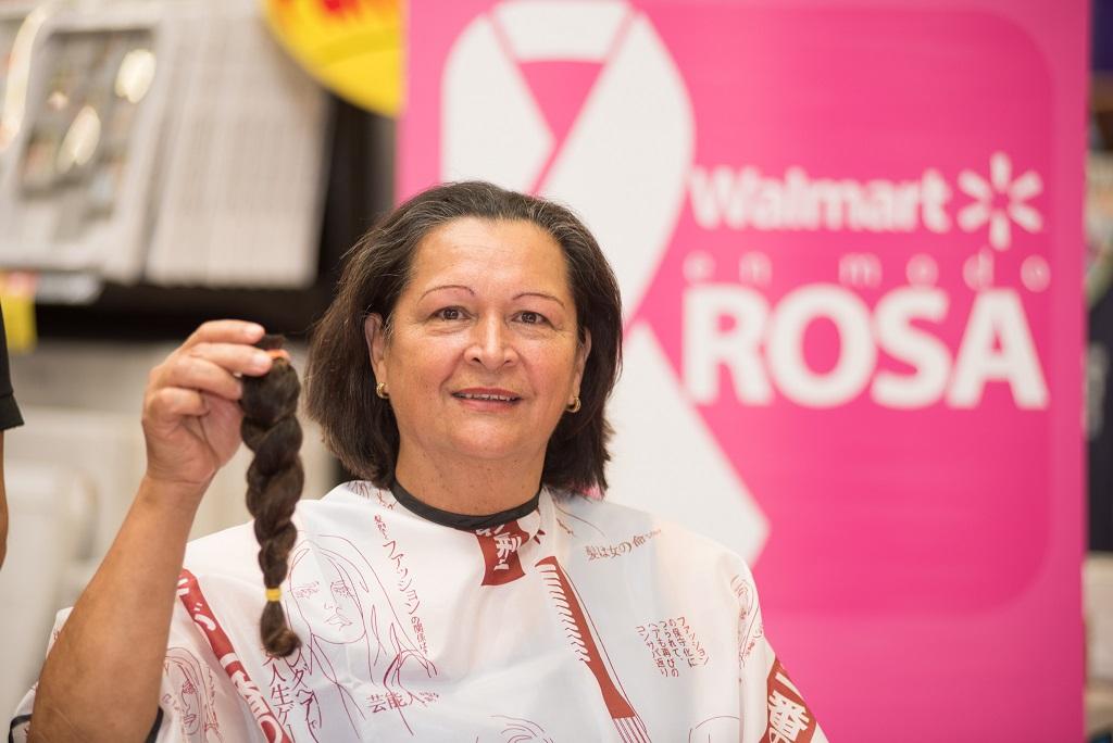 Walmart inicia campaña de donación de cabello en octubre