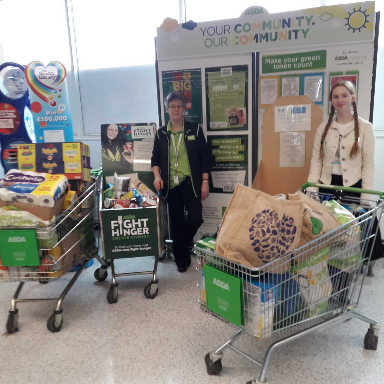 The RAFT Foundation Food Bank | Asda Rawtenstall