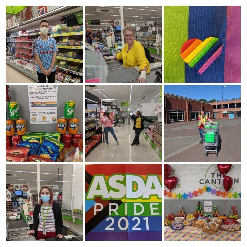 Celebrating Pride 🏳️🌈 | Asda Bromsgrove