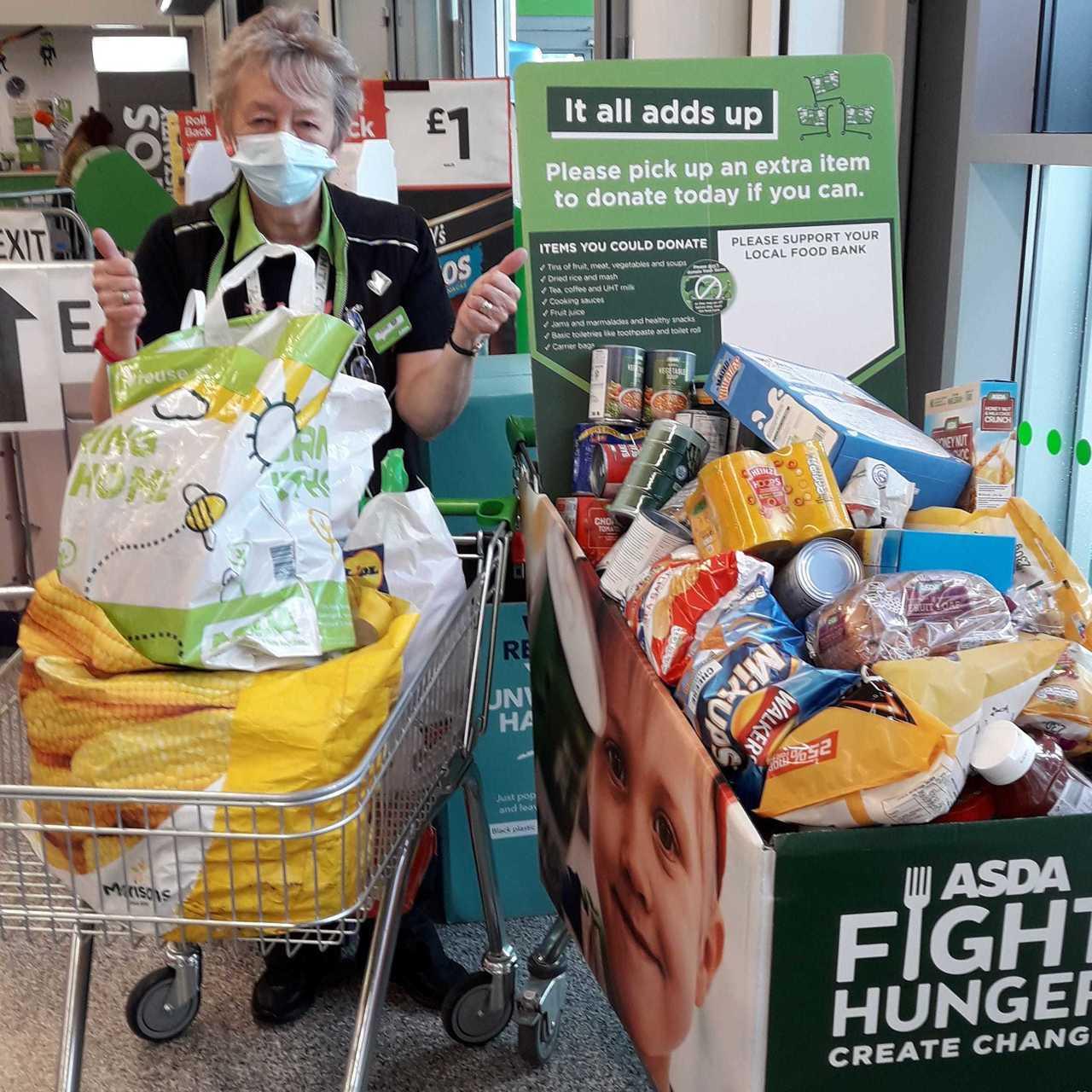 Burnage Foodbank support | Asda Reddish