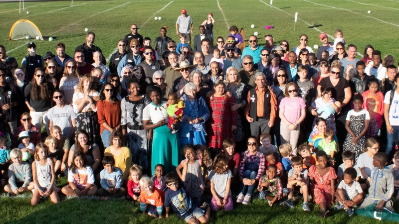 The YMCA and Idaho Office of Refugees held the first-ever Family Together Field Day